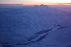 Denali at Sunset Stock Photo