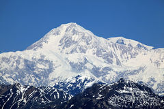 Denali View South closeup Royalty Free Stock Photography