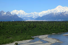 Denali View South Royalty Free Stock Photography