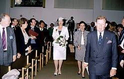 DENAMRK的女王玛格丽特二世 图库摄影