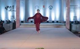 """Denandra serien av den Xiang cloud""""-mode showen Royaltyfri Fotografi"""