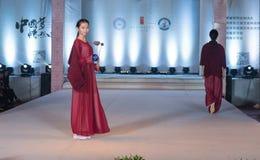 """Denandra serien av den Xiang cloud""""-mode showen Royaltyfria Bilder"""