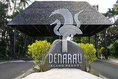 Denarau Island resort Fiji Royalty Free Stock Photos