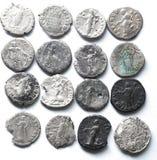 Denario romano Fotografía de archivo