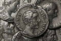 Denarius, Antoninus Pius Royalty Free Stock Photography