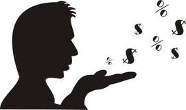 Denaro per le piccole spese Immagini Stock