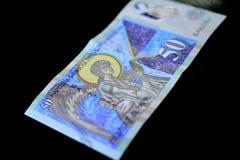 denaru macedonian curency, banknot Obrazy Royalty Free