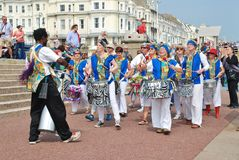 Dende Nation samba drummers Royalty Free Stock Image