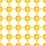 Dendelion jaune et orange drôle Photos stock