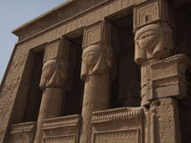 Dendera Temple. Or Temple of Hathor in Egypt Royalty Free Stock Photo