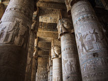 Dendera Temple. Or Temple of Hathor in Egypt Stock Image