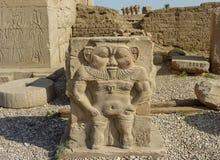 Denderatempel in Egypte stock fotografie
