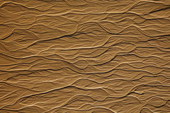 Dendriform texture on sand Stock Photo
