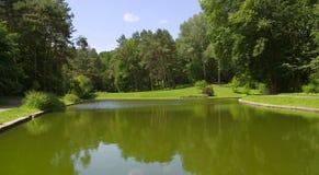 ` Dendrological nazionale del ` SOFIYIVKA del parco Immagini Stock