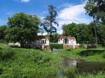 Dendrologicalpark in de Oekraïne Royalty-vrije Stock Afbeeldingen