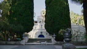 Dendropark na cidade de Sochi, Rússia filme