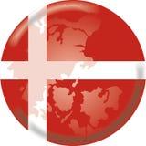 Denemarken botton stock illustratie