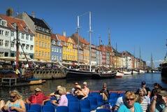 Denemarken, Kopenhagen royalty-vrije stock fotografie
