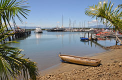 Denerau Harbour & Marina, Fiji. Royalty Free Stock Images