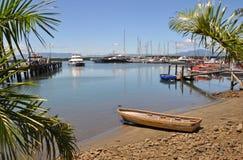 Denerau Harbour & Marina, Fiji. royalty free stock images