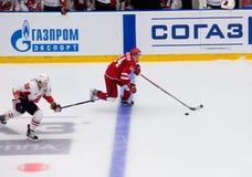 A Denezhkin 14 vs E Martynov 55 Arkivfoton