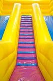 denfyllda glidaren fokuserar på trappa Fotografering för Bildbyråer