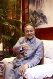 Deng Xiaoping Wachsfigur Stockbild