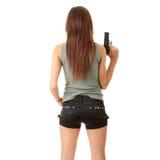 Dengerous girl Stock Photography