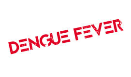 Dengue Fever rubber stamp Stock Photos