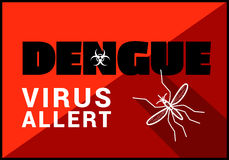 Free Dengue Virus Allert Vector Outline Royalty Free Stock Photography - 70779597