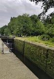Denham deep lock on the Grand Union Canal - Denham Country Park, Hillingdon, London, United Kingdom