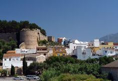 Denia Royalty Free Stock Image