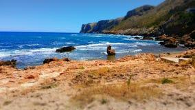 海滩Denia 库存图片