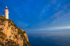 Denia Javea San Antonio Cape Mediterranean Lighthouse Stock Image