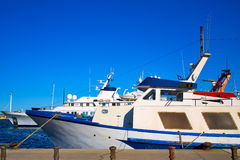 Denia marina Port in Alicante Spain Mediterranean Royalty Free Stock Photo