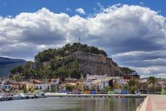 Denia na Espanha Fotos de Stock Royalty Free