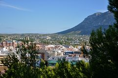 Denia Spain Royalty Free Stock Photo