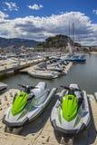 Denia in Spanje Stock Foto