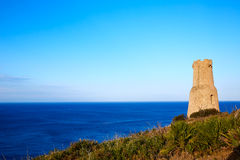 Denia Torre del Gerro tower in Las Rotas Spain Stock Image