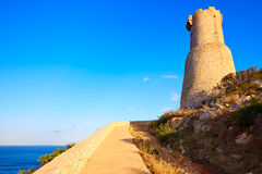 Denia Torre del Gerro tower in Las Rotas Spain Stock Photos