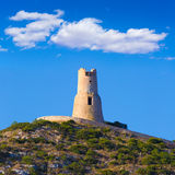 Denia Torre del Gerro tower Mediterranean Alicante Stock Images