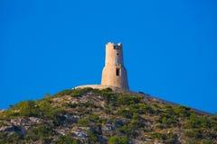 Denia Torre del Gerro tower Mediterranean Alicante Stock Image