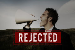 Denied Rejected Banned Failed Stamp Graphic Concept Royalty Free Stock Image