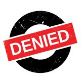 Denied rubber stamp Stock Photography
