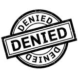 Denied rubber stamp Royalty Free Stock Image
