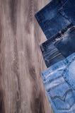 denim голубые джинсы предпосылки славные стоковые изображения
