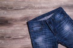 denim голубые джинсы предпосылки славные стоковые изображения rf