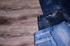 denim голубые джинсы предпосылки славные стоковое фото rf