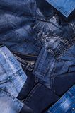 denim Текстура джинсыов стоковая фотография