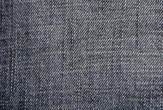 Denim. Close-Up Of Blue Denim Cloth - Jeans Background royalty free stock image